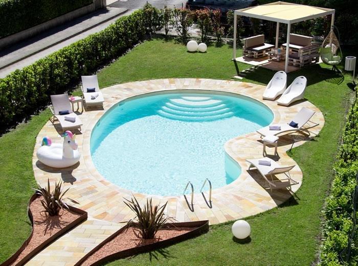 Hotel Brescia - Piscina all'aperto
